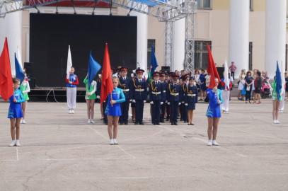 6 мая на площади ДК Нефтяник состоялось мероприятие посвященное празднованию Дня победы