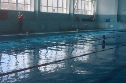 "Выполнение норматива ""Плавание"" учащимися МБОУ ""Школа № 57"""