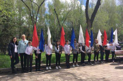 Митинг, посвященный 74 годовщине Победы в Великой Отечественной войне